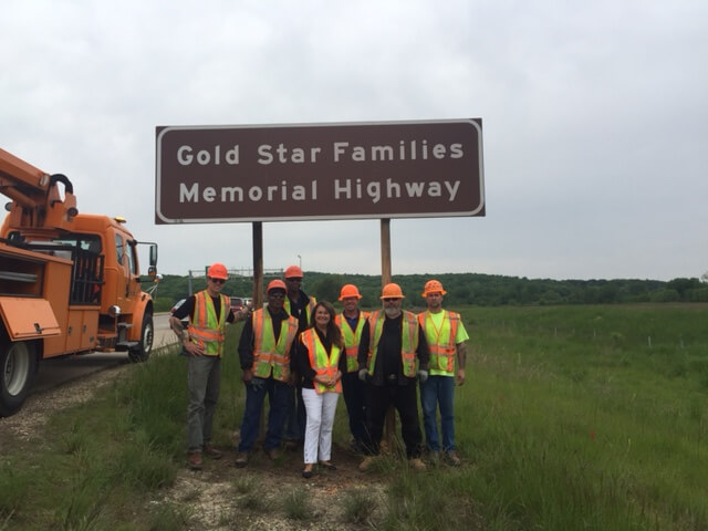 Gold Star Families Memorial Highway 14