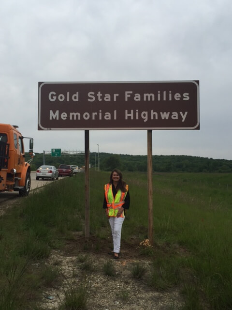 Gold Star Families Memorial Highway 15