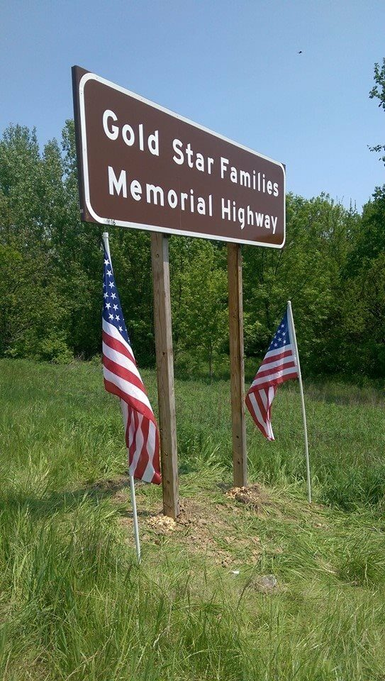 Gold Star Families Memorial Highway 16