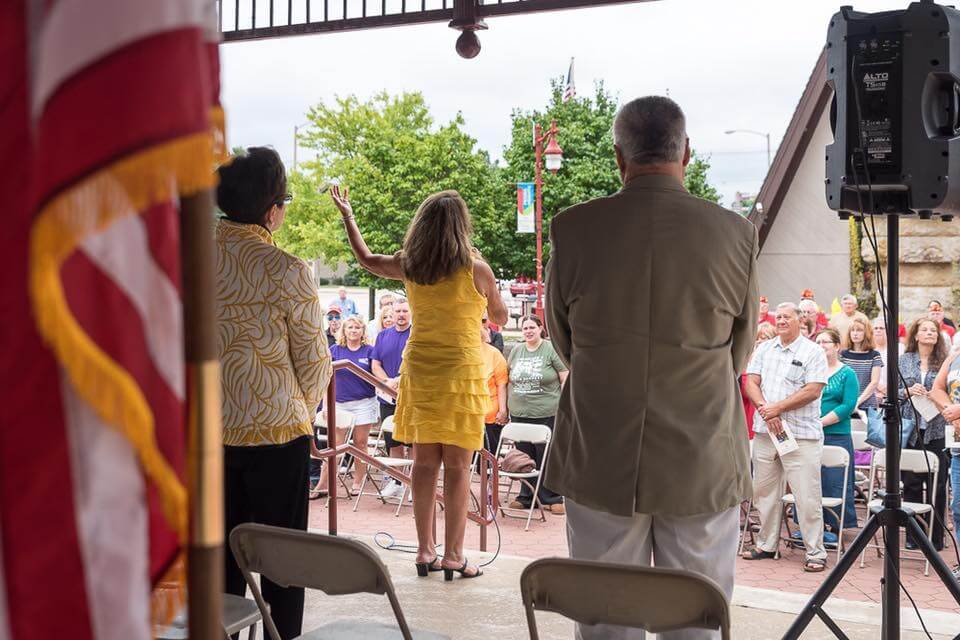Gold Star Memorial Marker Dedication 2016-25