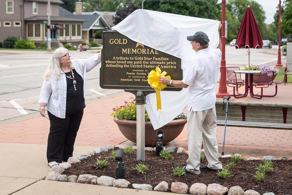 Gold Star Memorial Marker Dedication 2016-27