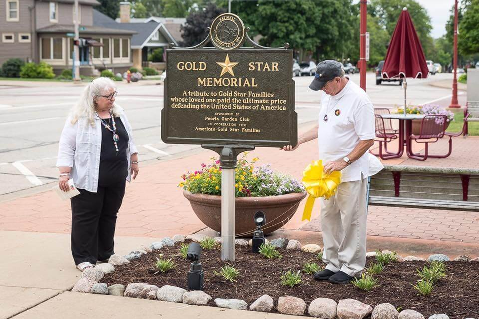 Gold Star Memorial Marker Dedication 2016-28