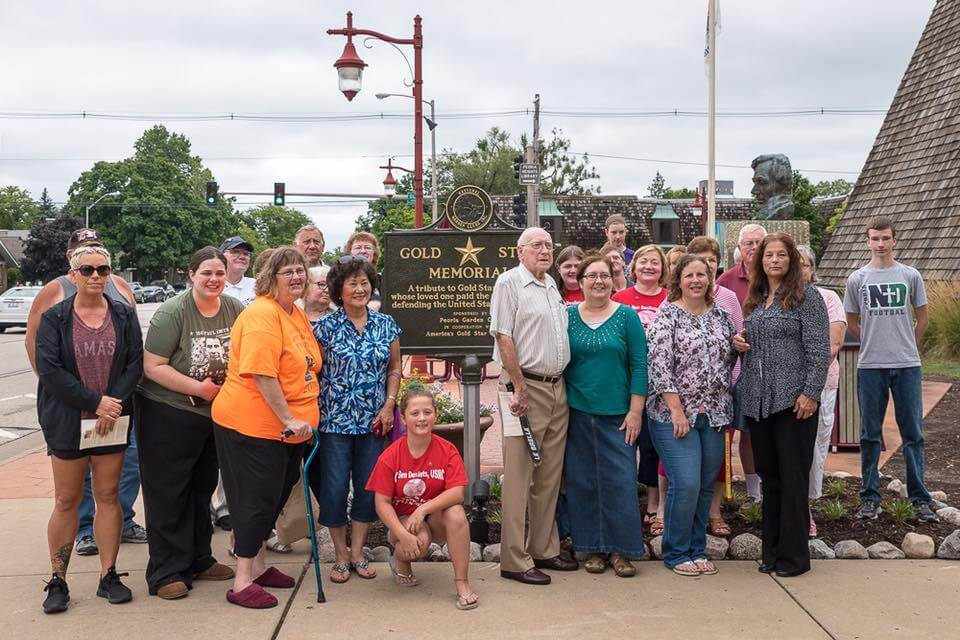 Gold Star Memorial Marker Dedication 2016-29