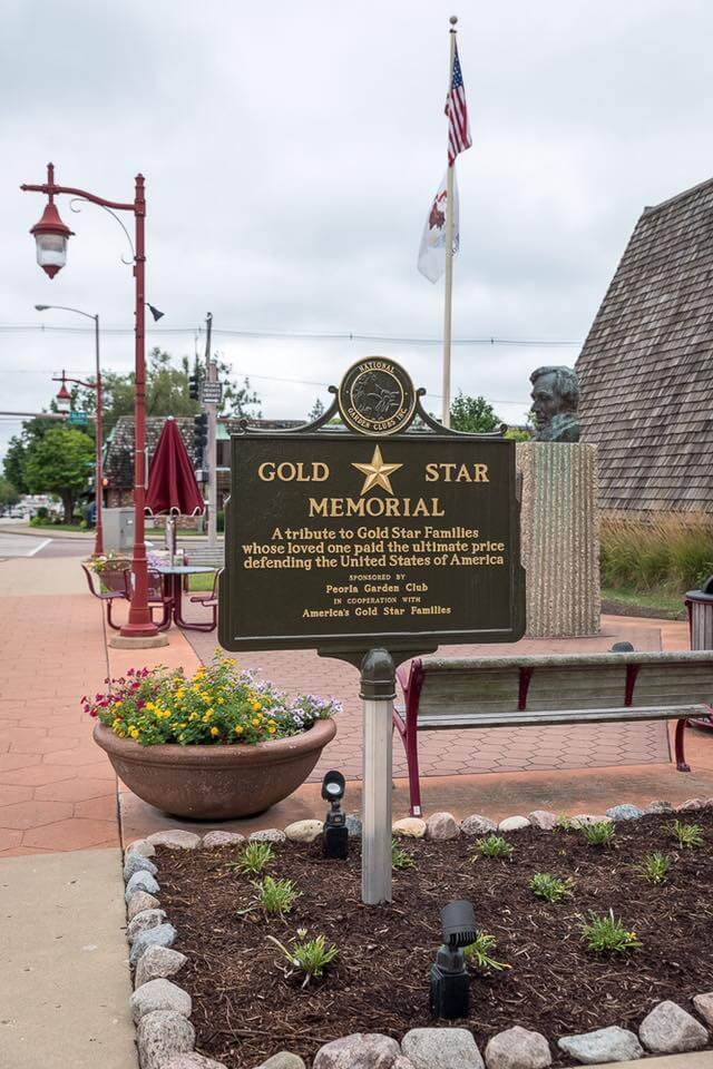 Gold Star Memorial Marker Dedication 2016-31