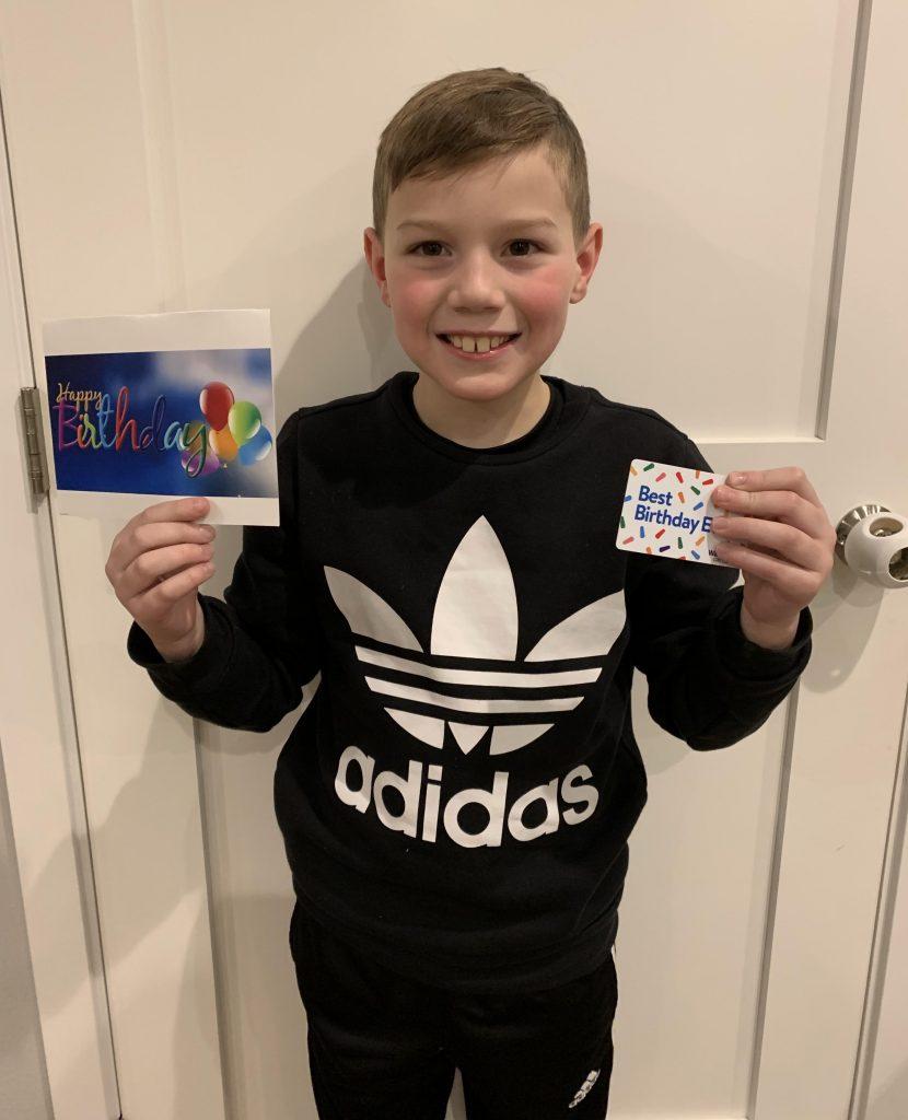 Children's Greeting Card Program 158