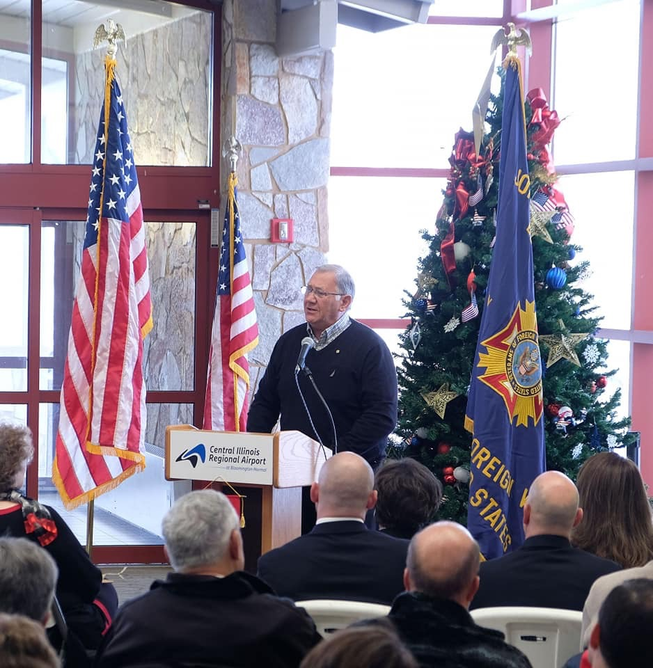 Fallen Heroes Tree of Honor Bloomington, IL 2018-03