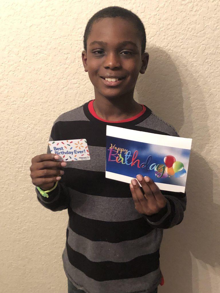 Children's Greeting Card Program 166